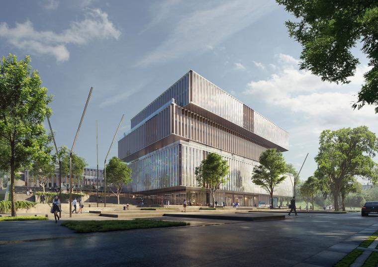 比利时可持续的Solvay国际办公总部-1
