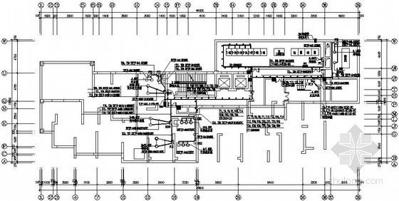 一类高层住宅楼电气施工图纸