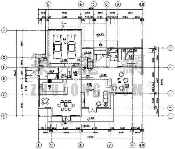 [分享]别墅室内彩色立面图资料下载