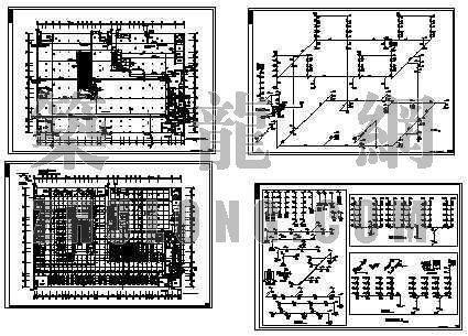 某农贸城给排水设计施工图全套