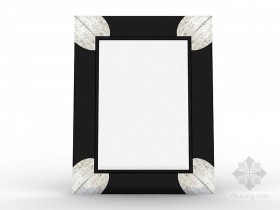 vr镜子材质资料下载-欧式新古典方镜