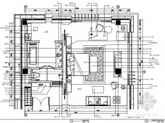 [江苏]工业园区中式休闲会所客房装修图