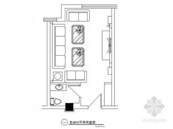 欧式娱乐会所资料下载-某欧式娱乐会所包房12装修图