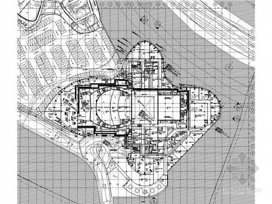 [南方]国际艺术中心大剧院给排水图纸(雨淋系统 水幕系统)