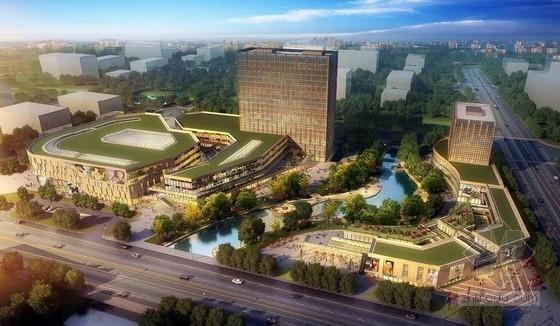 [上海]高档台湾风情式商业综合体及单体建筑建筑设计方案文本