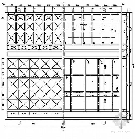 混凝沉淀池结构图(含配筋图)