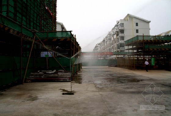 [陕西]高层商住楼项目文明工地创建计划(附图)