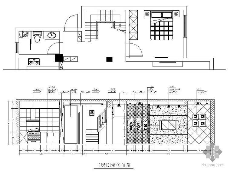 [浙江]某三层联排别墅室内装修图_2