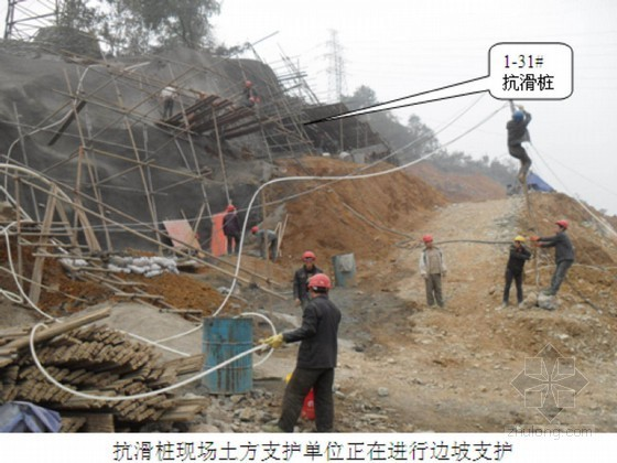 棚户区改造工程场地边坡人工挖孔抗滑桩支护施工方案
