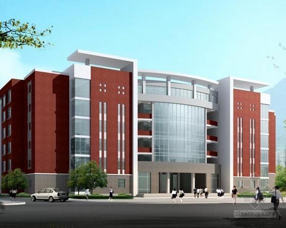 [湖南]学生宿舍新建工程项目工程量清单及招标文件(附CAD图)