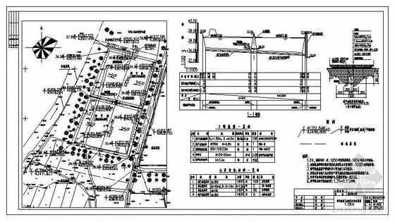 安徽某垃圾填埋场防渗系统施工图-