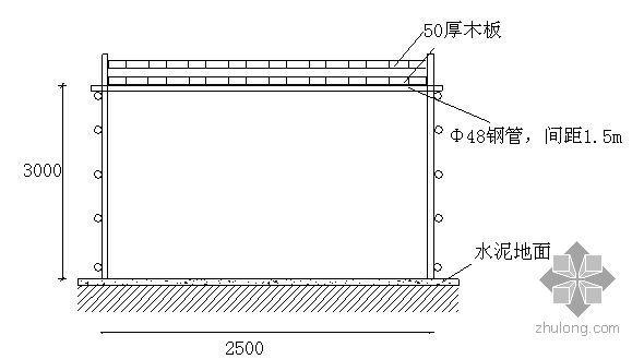 北京某办公楼龙门架安装施工方案