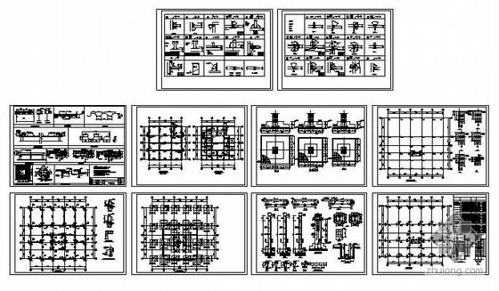 青岛某停车楼结构图