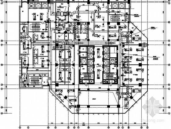 [浙江]超高层酒店办公大楼空调通风设计施工图纸(17万平 161米)
