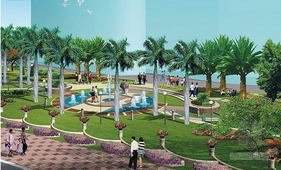 [安徽]景观绿化带水电安装施工承包合同(7页)