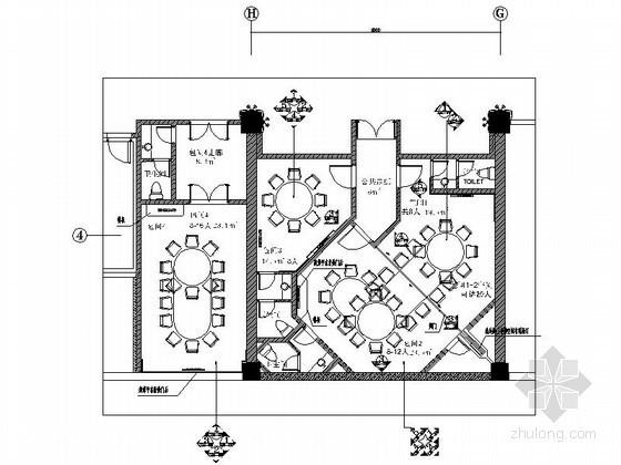 [大连]酒店餐厅包间装修设计图