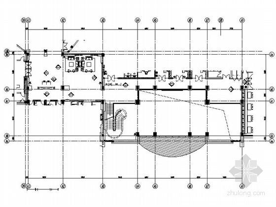 [安徽]时尚酒店跑马廊室内装修图