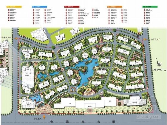 [北海]东南亚风情小区景观设计方案——方案设计