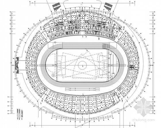[山东]健身中心体育场电气初设图(2016年甲级院设计)