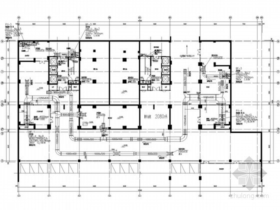 [河南]家具城通风及防排烟系统设计施工图