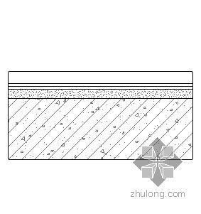 钢挂瓦条平瓦屋面(无保温隔热)