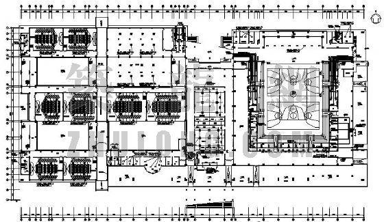某大学学生活动中心空调设计图