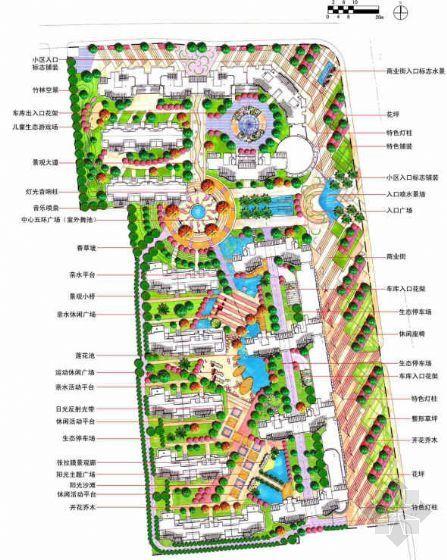 无锡花园小区景观设计方案