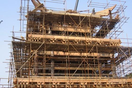 [QC成果]古建筑重檐屋面戗根节点施工创新(钢木结合法)