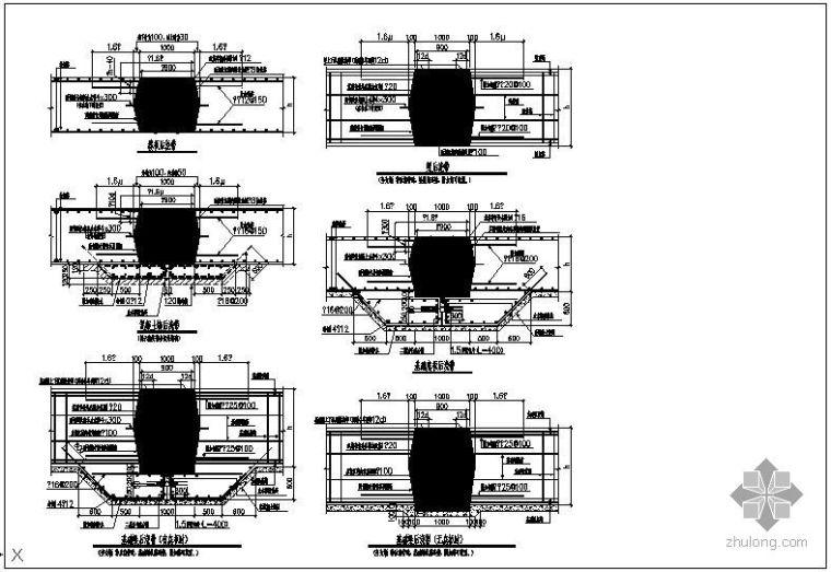 某后浇带详细做法节点构造详图