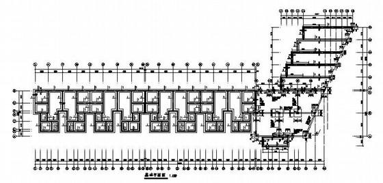 四层框架10号住宅楼结构施工图(坡屋面)