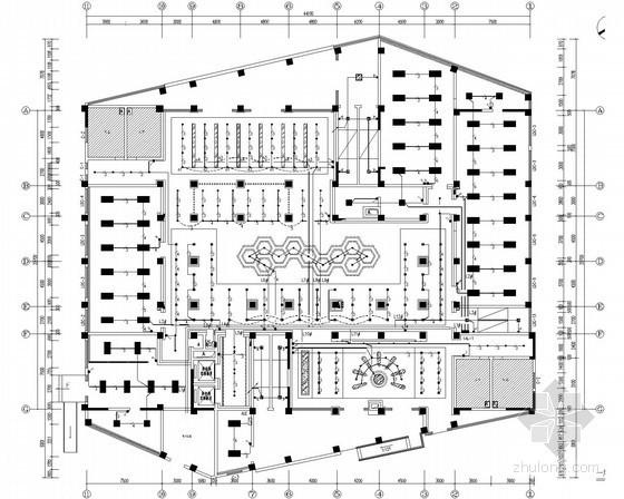 [安徽]青少年活动中心照明及配电系统施工图