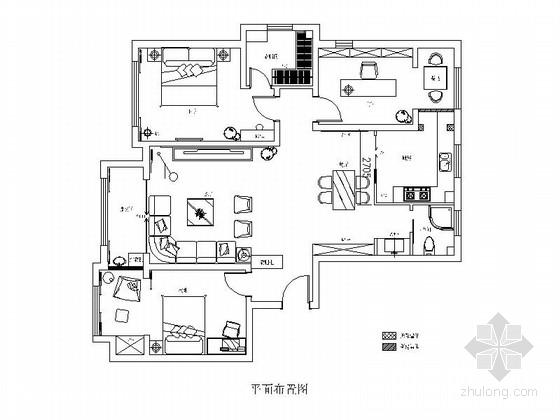 [原创]现代时尚文艺范十足两居室家装方案(含效果图)