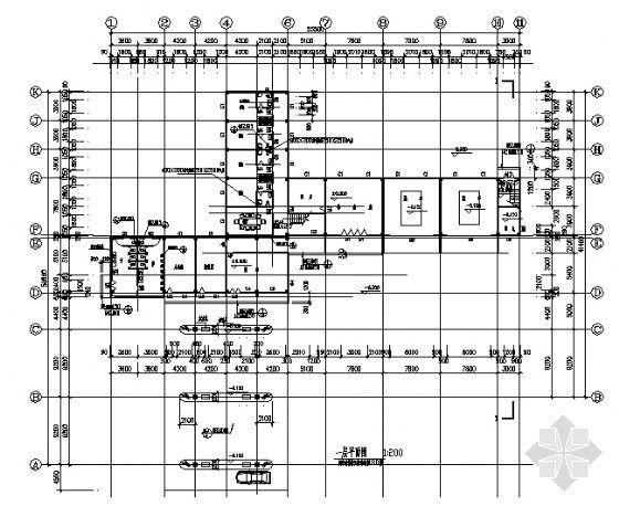 某二层加油站建筑施工图-3