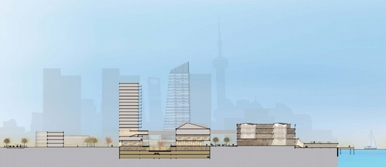 [上海]现代城市高层风格字体综合体设计生态方案(知名建筑设计院)快题设计文本标题多大图片