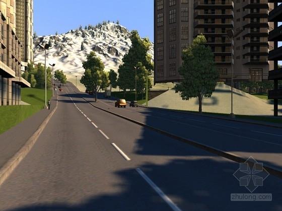 新规范设计城市次干路全套施工图(绿化)