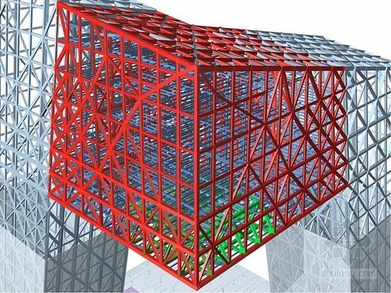 [北京]地标性超高层电视台钢结构安装施工组织设计(360余页 附三维效果图)