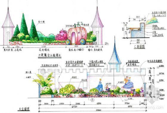 某幼儿园架空层景观设计方案-2