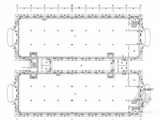 木器工厂厂房散热器采暖系统设计施工图