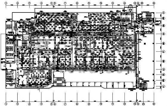 某电子厂洁净室空调施工图