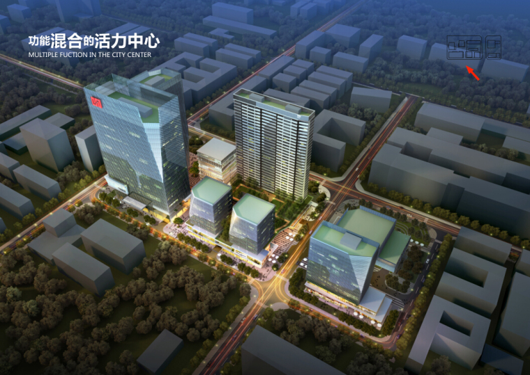 [深圳]超高层地标性商业住宅综合性广场方案+CAD施工图全套图纸