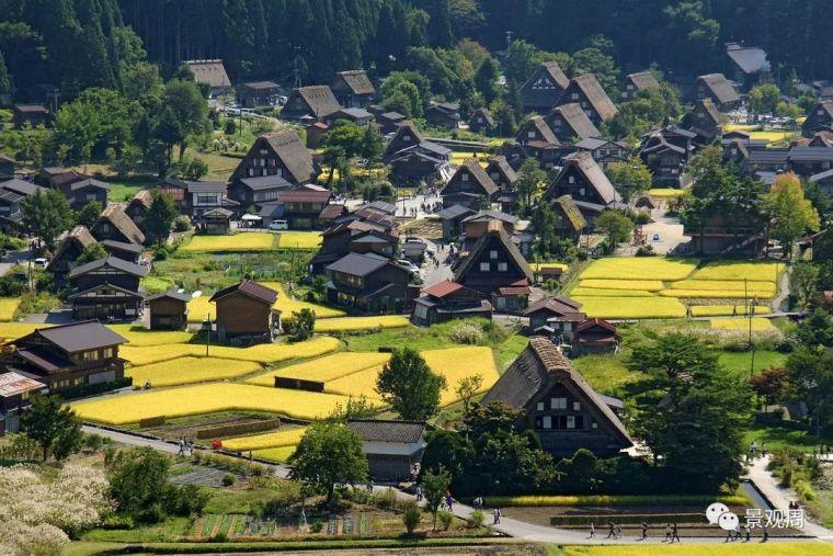 日本最美乡村合掌村的百年开发与保护
