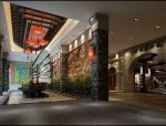 室内美食城入口3D模型