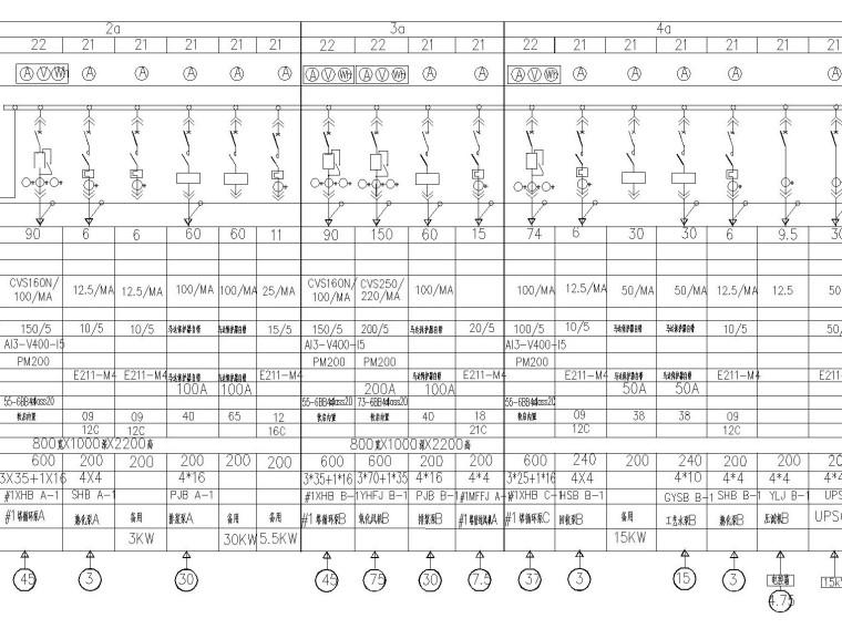 烟台南部热水锅炉烟气脱硫工程的配电部分设计.