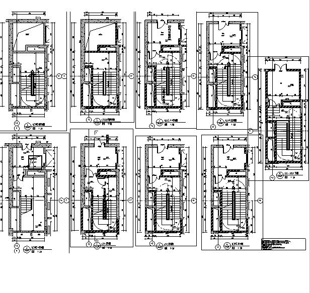 [上海]13栋专业框剪图纸住宅建筑全三国施工图乱世结构兵器高层图片