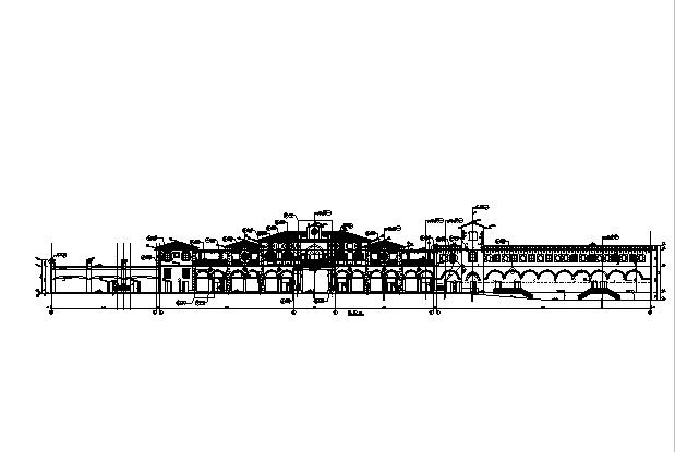 [知名]13栋框架结构两层商业建筑施工图