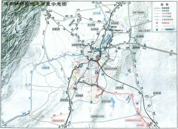 成都VS杭州!新一线城市的铁路枢纽规划较量,谁更有看点?