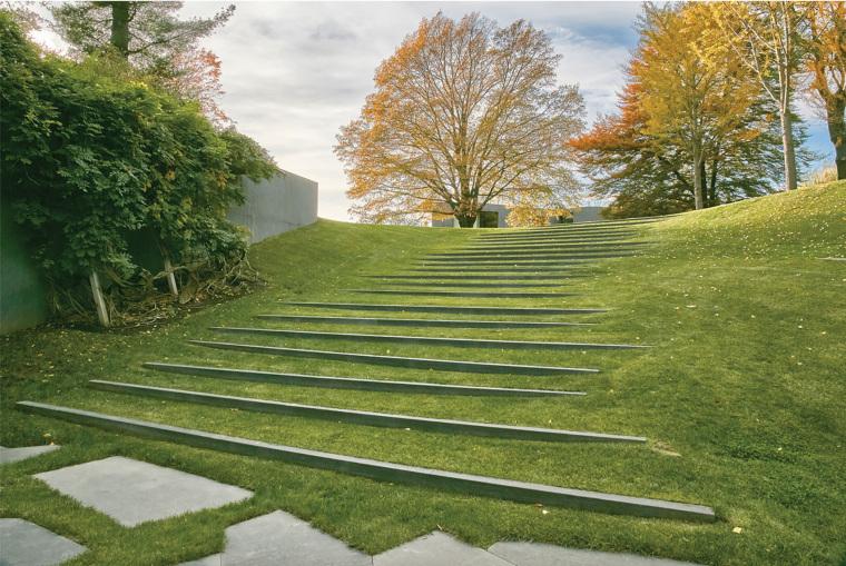 美国抽象形态的住宅景观-2