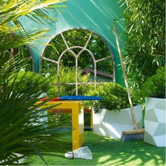 小花园设计创意思维很重要