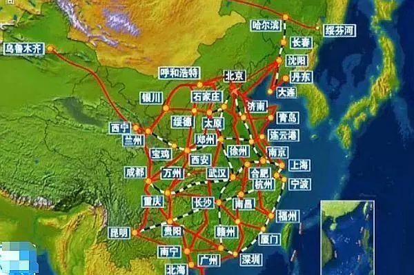 耗资4200亿造世界最长高铁,将贯通中国南北7省,2025年正式通车_3