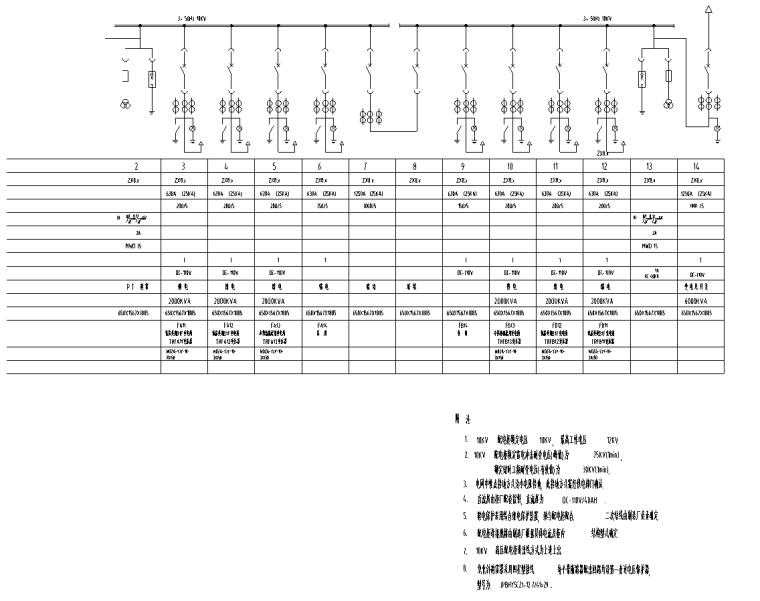 上海超高层甲级写字楼强电系统施工图
